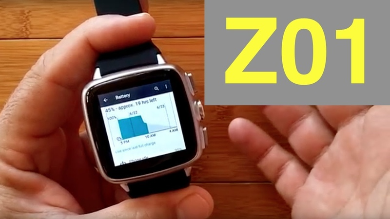 Z01 Square 1GB8GB ANDROID 5.1 Smartwatch Unboxing 1st Look