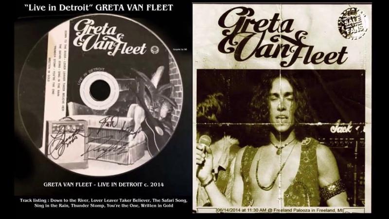 Written In Gold (Live In Detroit) Greta Van Fleet