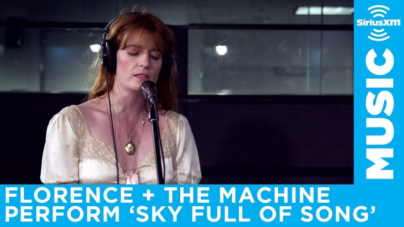Florence The Machine perform Sky Full of Song at the SiriusXM Studios