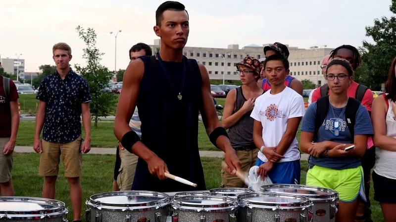Bluecoats 2015 Drumline - Flam Jam