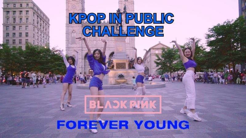 [EAST2WEST] Dancing Kpop in Public Challenge BLACKPINK - FOREVER YOUNG