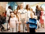Модели Happy kids Tyumen на пижамной вечеринки в МФК Магеллан