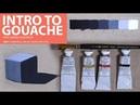 Intro to Gouache with Jarrad!