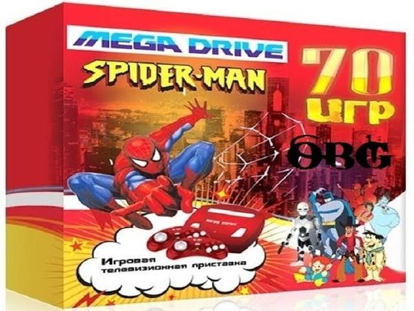 Приставка Sega Mega Drive Spider-man со встроенными играми - хороша, чертовка!