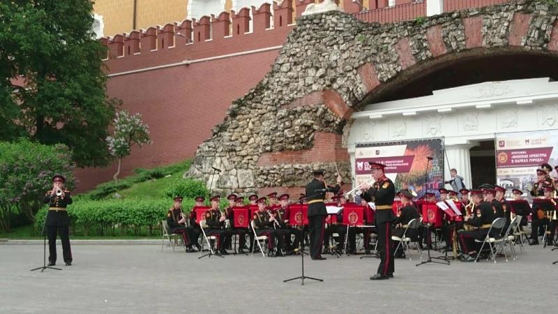 Открытие сезона Военные оркестры в парках Монтана солисты И Игнатенко и И Кирдиянов