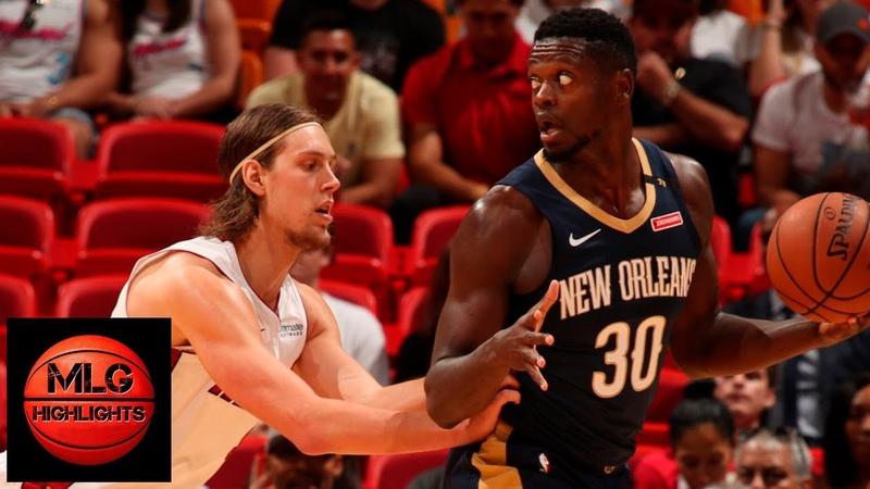 Miami Heat vs New Orleans Pelicans Full Game Highlights   10.10.2018, NBA Preseason