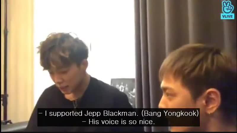 [OTHER] Bobby и Донхёк (iKON) упомянули Ёнгука во время трансляции в V LIVE