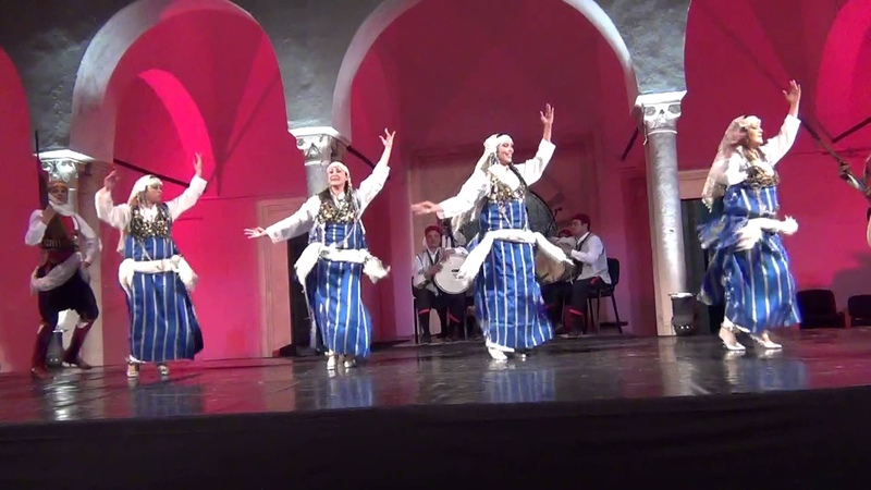 Danse tunisie groupe des arts et tradition tunisienne