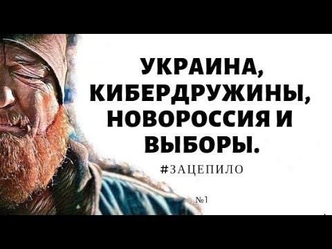 Украина, кибердружины, новороссия и выборы ЗАЦЕПИЛО №1