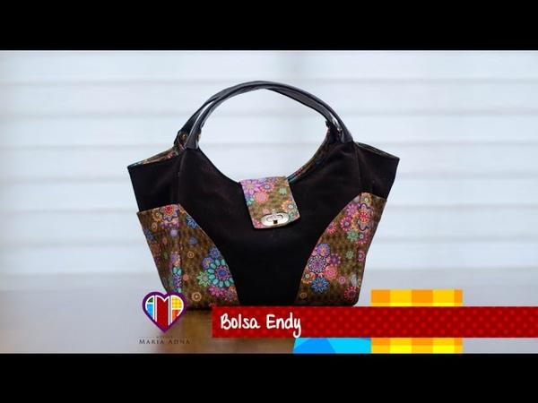 Bolsa de tecido Endy Pretty fabric bag tutorial Make this cute fabric bag
