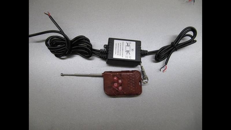 Контроллер светодиодов стробоскопов с пультом Д.У.1 gv-auto.com.ua