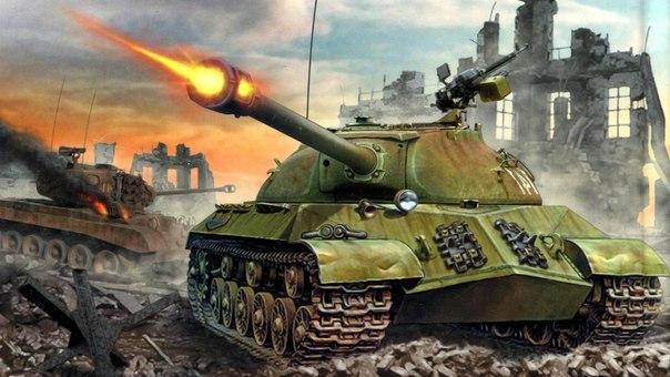 бронированный сюрприз иосифа сталина 29 марта 1945 года на вооружение красной армии был принят тяжёлый танк иосиф сталин-3. этот зловещего вида бонированный гигант, получил в войсках прозвище