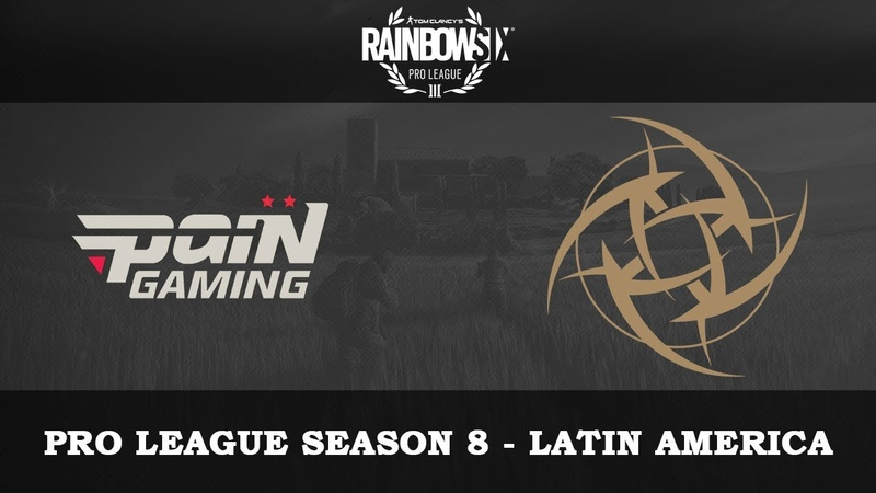 PaiN vs NIP @Clubhouse Rainbow6 VODs Pro League Season 8 Latin America 17 10 2018