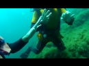 Погружение на глубину 30 метров