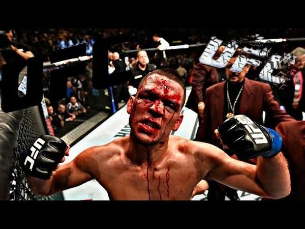 UFC:NATE DIAZ УБИЛ ТОЛПУ СВОИМ НОКАУТОМ!!