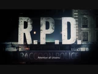 Resident Evil 2  премьерный трейлер