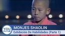 Monjes Shaolin Exhibición De Habilidades