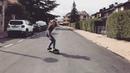 """E L E N A E S P A D A on Instagram Enjoying smoothstar carving slide longboard girl alp happy sport enjoyskateboard longboardgirl"""""""