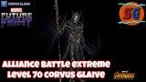 Alliance Batle Extreme - Level 70 Corvus Glaive   MARVEL FUTURE FIGHT