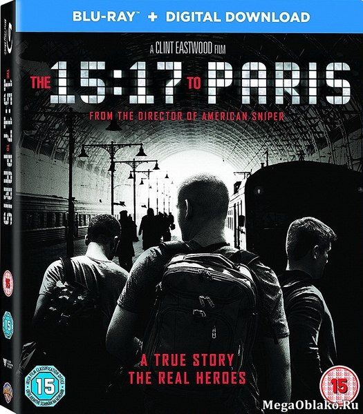 Поезд на Париж / The 15:17 to Paris (2018/BDRip/HDRip)
