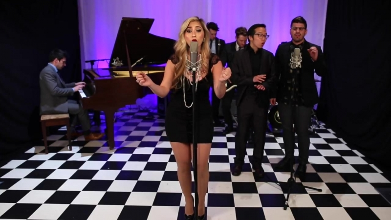 Grenade - Vintage 60s Style Bruno Mars Cover ft. Brielle