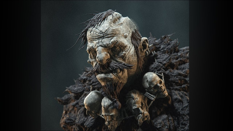 Maneater from the North. Zbrush Timelapse