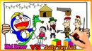 Doraemon Ride A Horse To Scare Nobita Coloring | Painting For Toddlers And Drawing For Kids 255