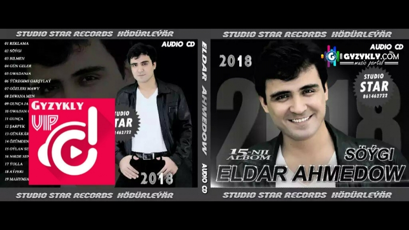 Eldar Ahmedow - Diwana men ( 15 Albom ) 2018