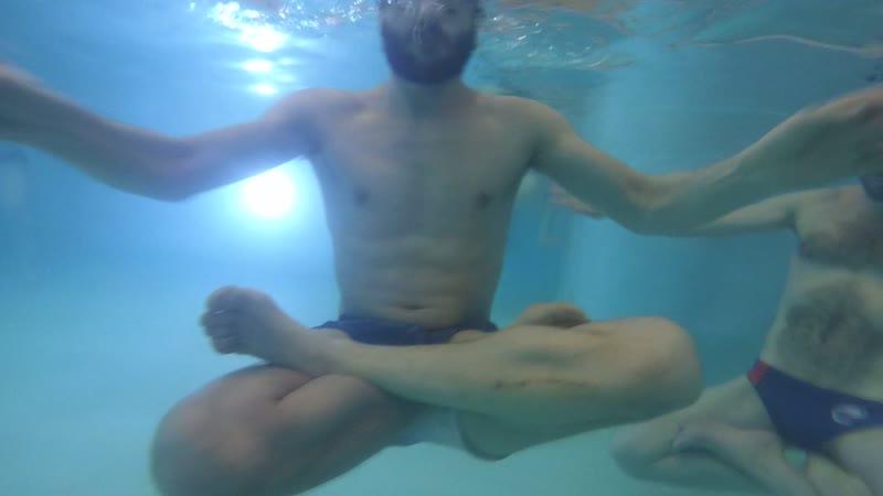 Невские моржи. 2й приоритет СПЗ. Подводная медитацияя.