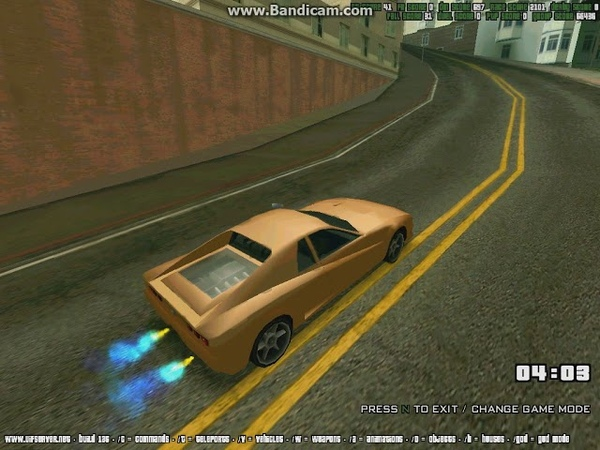 UIF SA MP Race Street №3 Record time 1 04 391 by EFO r1d3r