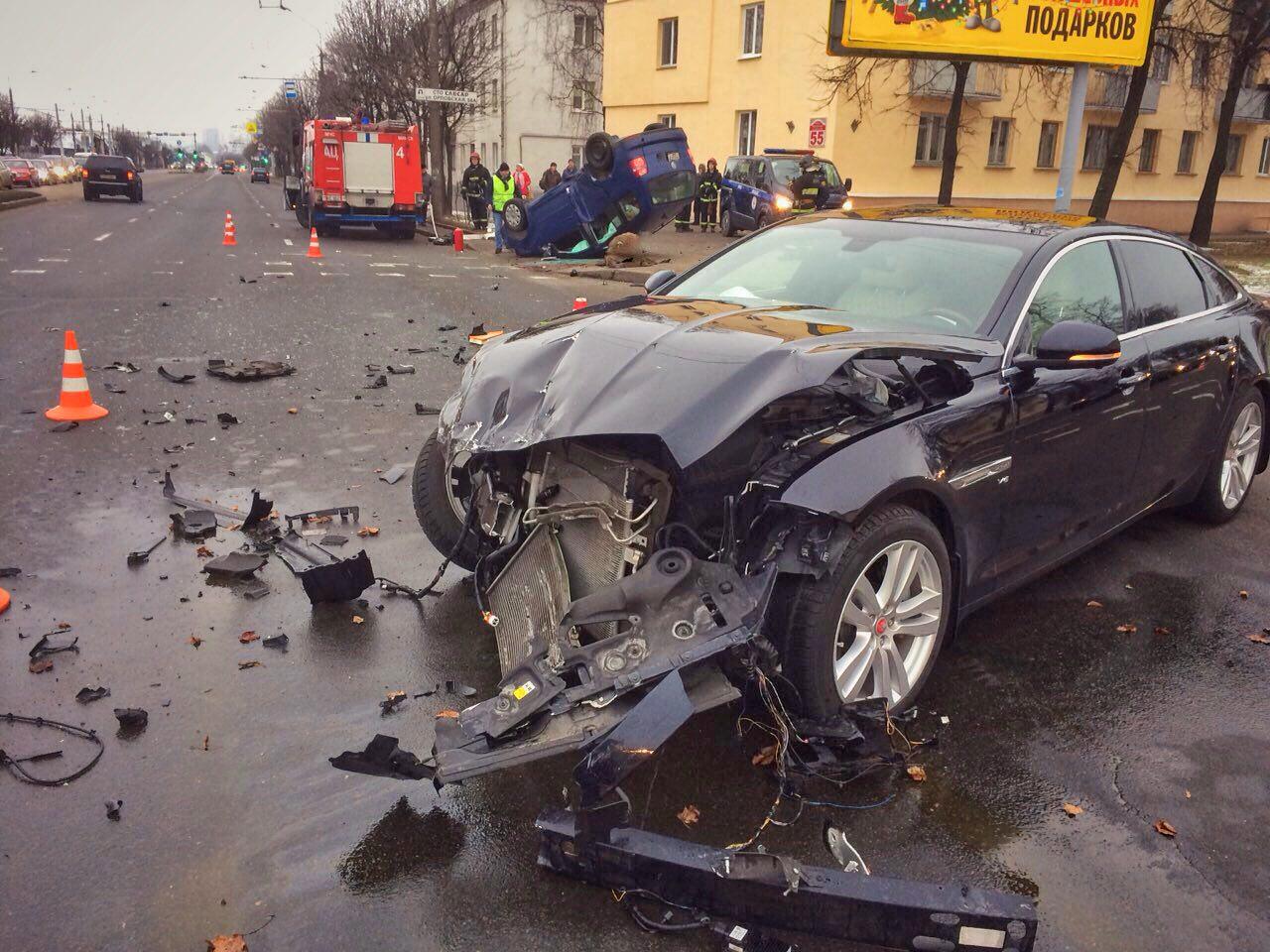 ДТП со смертельным исходом произошло в Минске