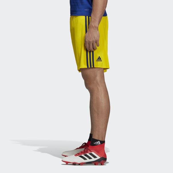 Гостевые игровые шорты сборной Швеции