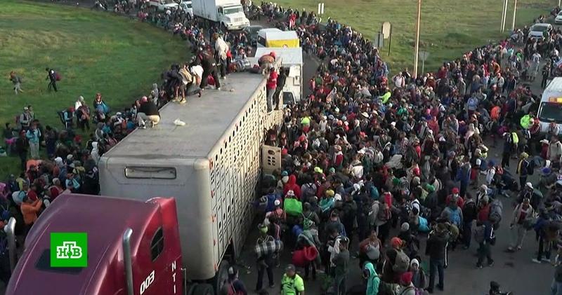Добравшиеся до границы мигранты рассказали о препятствиях на пути к США
