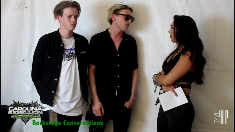 Interview with Jamie Sam of COUNTERFEIT at Carolina Rebellion 2018 Backstage Conversations