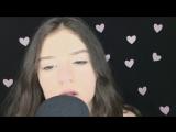 [Anastasia ASMR] ASMR mouth & sounds, eating candy/ АСМР звуки рта, итинг конфетки, линзы SuperGlazki