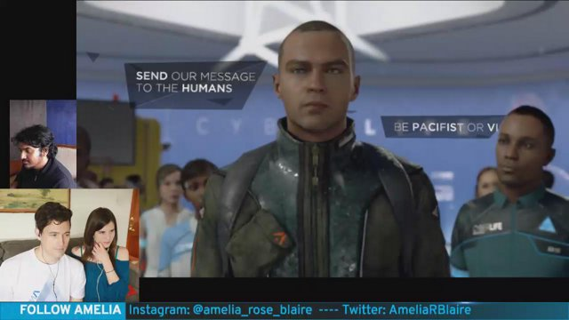 Stream 4 (Part 1 of 2) Bryan Dechart plays Connor in Detroit: Become Human