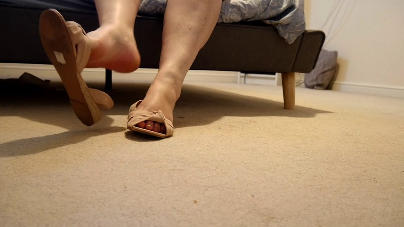 Shoeplay In Sandals