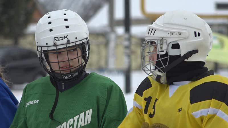 В Уфе прошел турнир по русскому хоккею с мячом среди детских команд