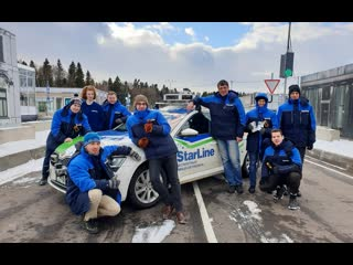 Квалификационные испытания беспилотника StarLine на конкурсе «Зимний город»