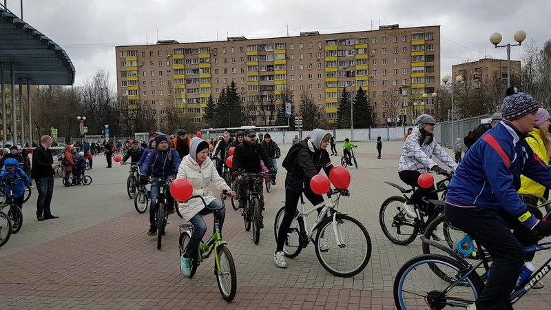 Старт велопарада