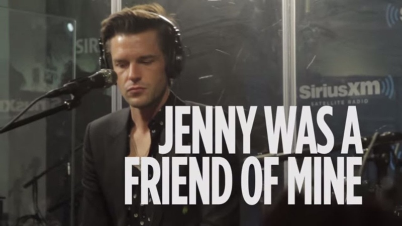 Brandon Flowers (The Killers) Jenny Was A Friend Of Mine Live @ SiriusXM Alt Nation