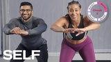Lisa Louise - Lower-Body No Equipment Workout | Интервальная тренировка для ног (плиометрика + тонус мышц)