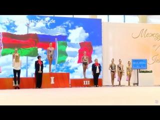 Церемония награждения - личное многоборье // Международный турнир 2018, Минск
