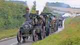 Incredible WW1 Military Vehicle Convoy Steam Through Dorset 11818