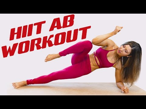 10 Minute Ab Sculpt Tone Workout, Effective HIIT for Slim Waist Flat Tummy | HIIT with Vegan