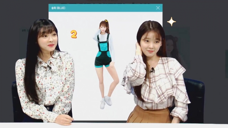 · Show · 180511 · OH MY GIRL Seunghee and YooA · Sudden Attack ·