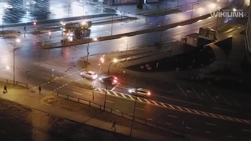 Въехал в заднюю часть автомобиля... ДТП на перекрёстке улиц Сальникова-Махновича в Бресте