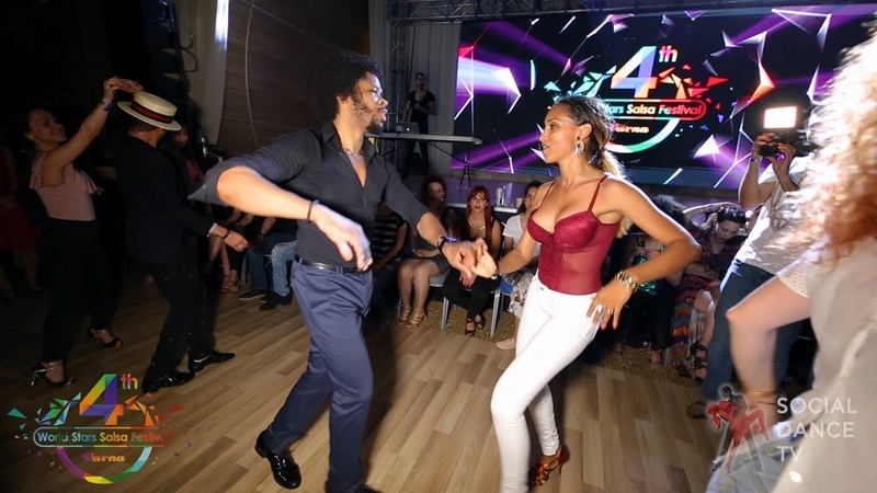 Terry SalsAlianza Bersy Cortez - Salsa social dancing | 4th World Stars Salsa Festival