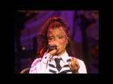 Janet Jackson - Again live (no auto tune )