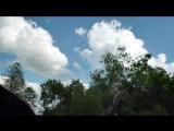 Сальто с 3.5 метров на реке Хмаре! +18(нагишом)